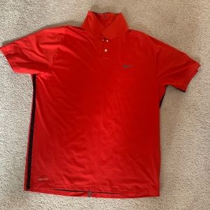 New Nike tiger woods golf polo size L